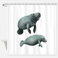 MANATEES Shower Curtain