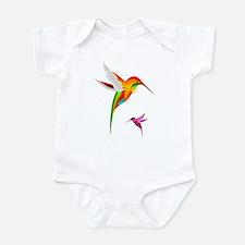 Colorful Hummingbirds Birds Body Suit