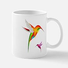 Colorful Hummingbirds Birds Mugs