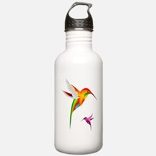 Colorful Hummingbirds Water Bottle