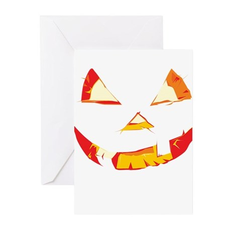 Jack O' Lantern Greeting Cards (Pk of 10)