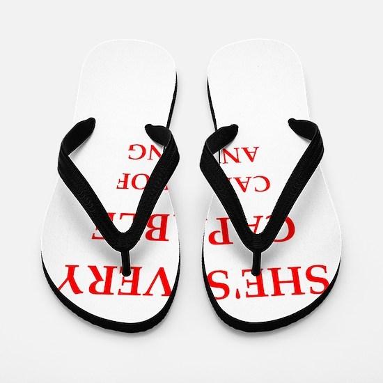 capable Flip Flops
