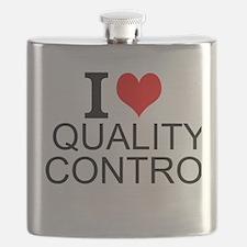 I Love Quality Control Flask