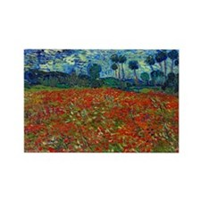 Cute Post impressionism Rectangle Magnet (10 pack)