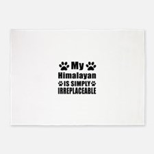 My Himalayan cat is simply irreplac 5'x7'Area Rug