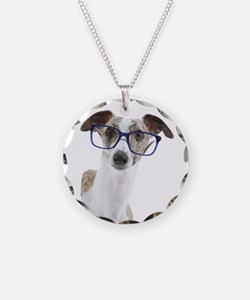 Whippet with lens Necklace