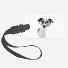 Whippet with lens Luggage Tag