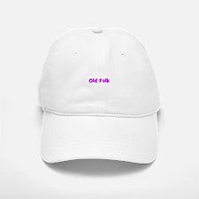 Old Folk Baseball Baseball Cap