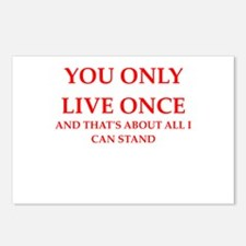 once Postcards (Package of 8)