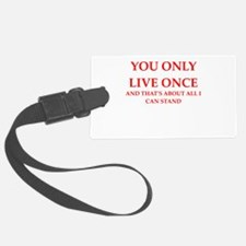 once Luggage Tag