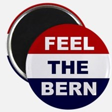 feel the bern button Magnets
