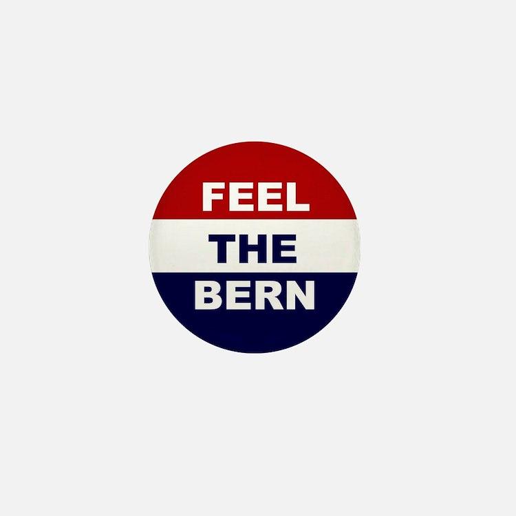 feel the bern button Mini Button