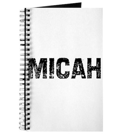 Micah Journal