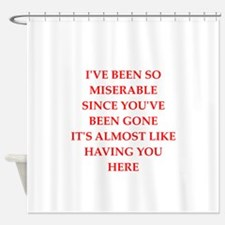 misery Shower Curtain