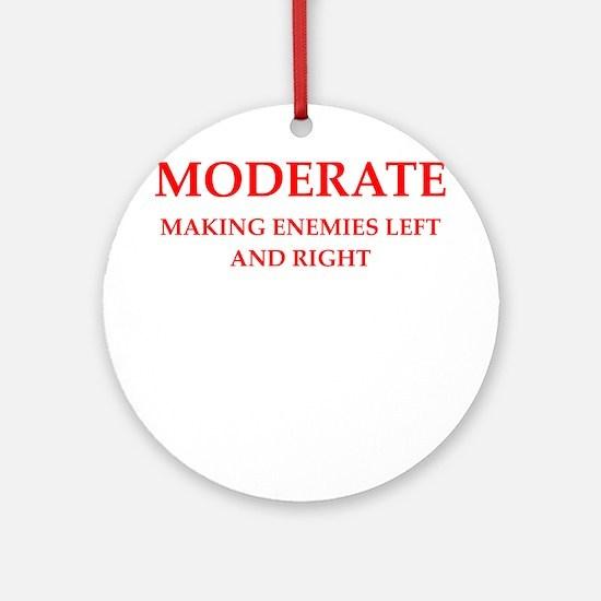 moderate Round Ornament