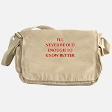 immature Messenger Bag