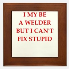 welder Framed Tile