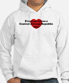Central African Republic girl Hoodie