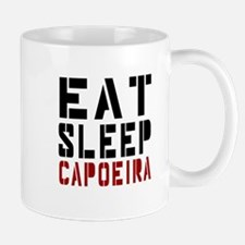 Eat Sleep Capoeira Small Mugs