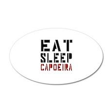 Eat Sleep Capoeira Wall Decal