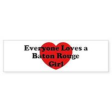 Baton Rouge girl Bumper Bumper Sticker
