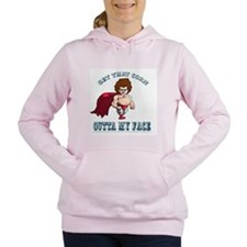 Cute Nachos Women's Hooded Sweatshirt
