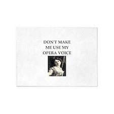 opera voice 5'x7'Area Rug