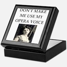 opera voice Keepsake Box