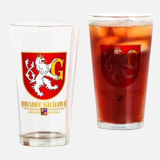 Hradec Kralove Drinking Glass