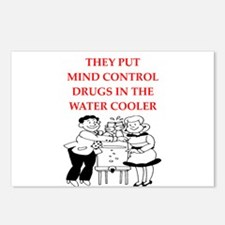 mind control Postcards (Package of 8)