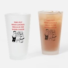 mind control Drinking Glass
