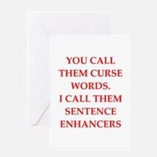 curse Greeting Cards