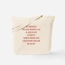 grooms Tote Bag