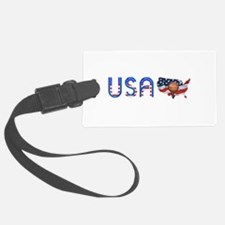 Hoops USA Luggage Tag