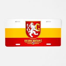 Hradec Kralove Aluminum License Plate