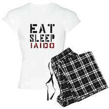 Eat Sleep Iaido pajamas