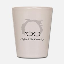 Bernie Unfuck the Country Shot Glass