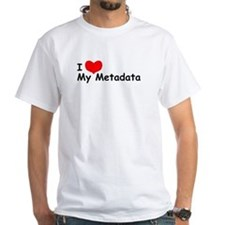 """I LOVE My Metadata"" Tee"