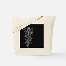 Elegant Feather Tote Bag