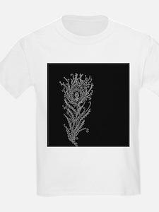 Elegant Feather T-Shirt