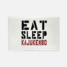 Eat Sleep Kajukenbo Rectangle Magnet