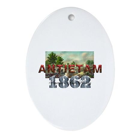 ABH Antietam Oval Ornament