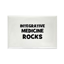 Integrative Medicine Rocks Rectangle Magnet