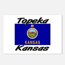 Topeka Kansas Postcards (Package of 8)