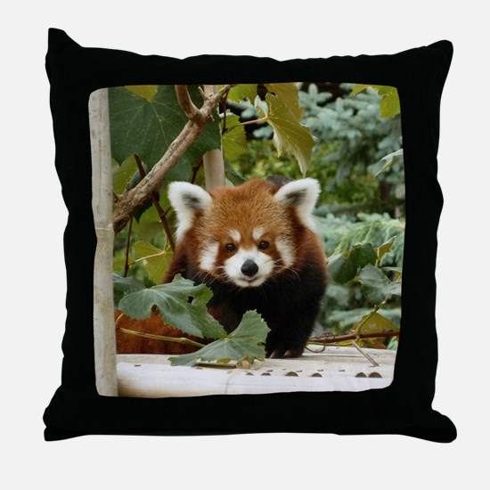 Unique Red panda Throw Pillow