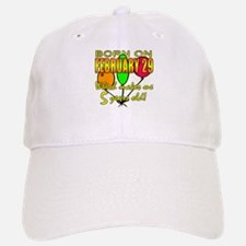 Leap Year Birthday 5 Years Old Baseball Baseball Cap