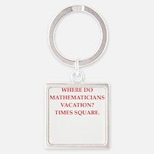 mathematics Keychains