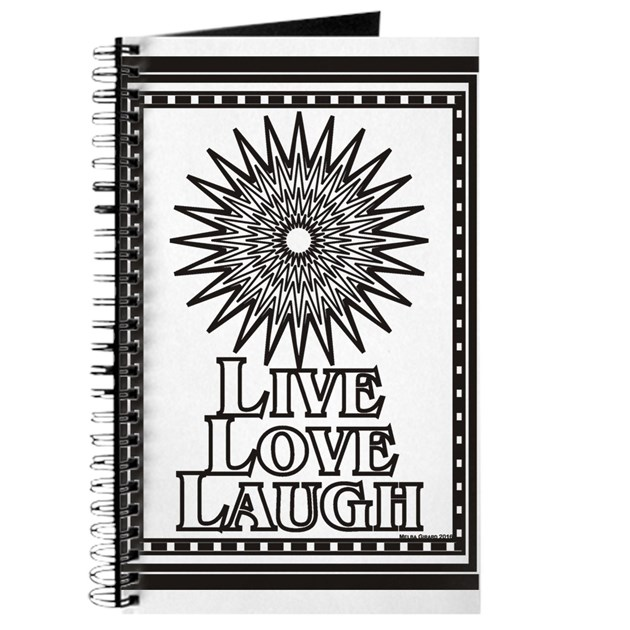Color Me Live Love Laugh Journal By Melbagirardsdepot