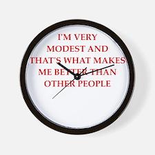 modest Wall Clock
