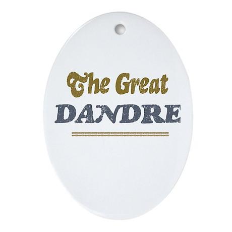 Dandre Oval Ornament